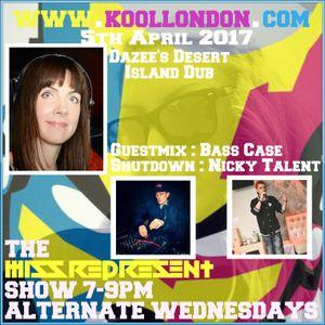 Missrepresent Kool London 05.04.17 Dazee / Bass Case / Nicky Talent