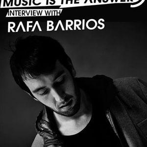 Music Is The Answer. Capítulo Nº057 |with RAFA BARRIOS|