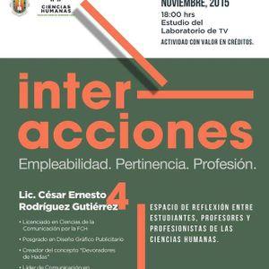 Interacciones 4 Cesar Rodríguez