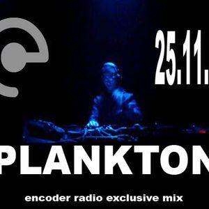ENCODER RADIO-------EXCLUSIVE MIX------//PLANKTON//TANZ FACTORY RECORDS//FRANCE//