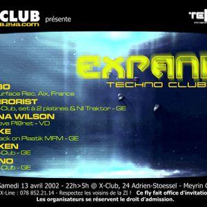 DJ TERRORIST @ X-Club Geneva 13-04-2002