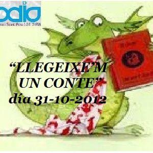 LLEGEIXE'M UN CONTE día 31-10-2012