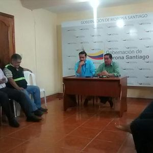 Rodrigo López, Gobernador de Morona Santiago - Cese de medida de hecho Via Macas-Puyo