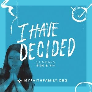 I Have Decided...to Follow Jesus (Audio)
