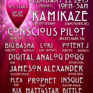DJ FLEX live at LA SELVA 2-22-2013