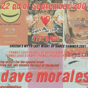 2°h David Morales d.j. Metropolis (Na) Angels of Love 22 09 2001