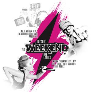 The Weekend Has Landed 06/04/12 Jamie Van Goulden