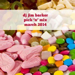 pick 'n' mix march 2014