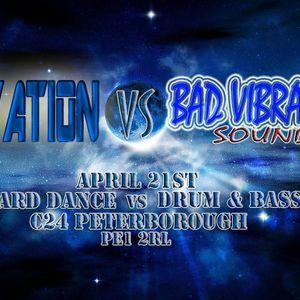 Mears z live @ Elevation VS Bad Vibrations 21st april 2012 C24 P`boro
