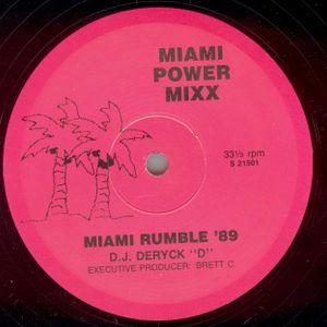 Vinyl Mastermix: Miami Rumble Mix 89