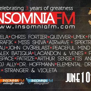 Arthur Sense - Insomniafm 3 Years Anniversary - June 2012