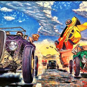 The Mystery Train presents the Hot rod, dragster, and cruisin' music special! (air date 6-25-17)