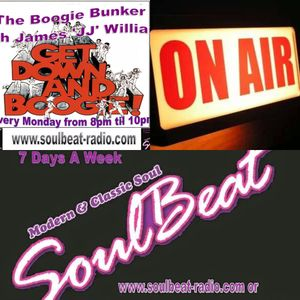 JJ's Boogie Bunker on Soulbeat Radio, Monday 25th January 2016 8-10pm(GMT).