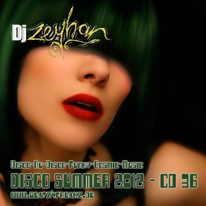 DJ Zeyhan - Disco Summer 2012 - CD 36