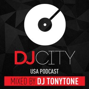 DJ City Podcast Guest Mix (January) - DJ TonyTone