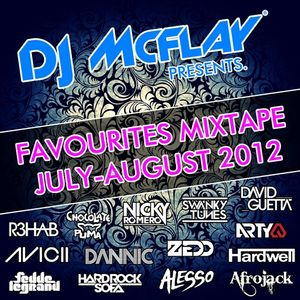 DJ Mcflay® - Favourites Mixtape July-August 2012