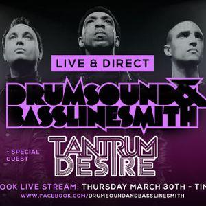 Drumsound & Bassline Smith - Live & Direct #31 Guest: Tantrum Desire