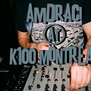 Amdraci@K-100 Montreal
