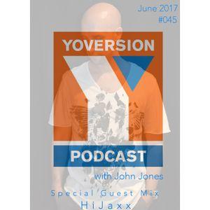 Yoversion Podcast #045 - June 2017 - Special Guestmix: HiJaxx (Thompson's Garage, Belfast)