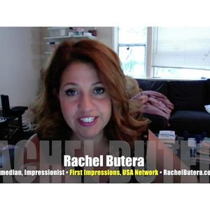 Hearing things? Must be Howard Stern comic Rachel Butera! INTERVIEW