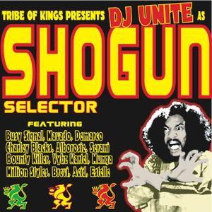 DJ UNITE - SHOGUN SELECTOR - DANCEHALL MIX - 2008