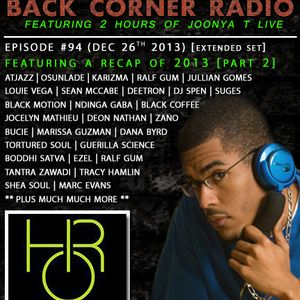 BACK CORNER RADIO: Episode #94 (Dec 26th 2013) [2013 RECAP PART.2]