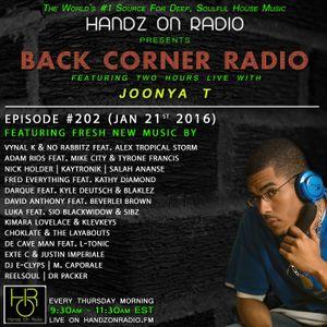 BACK CORNER RADIO: Episode #202 (Jan 21st 2016)