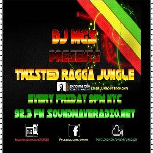 Dj.MGS Presents Twisted~Ragga Jungle Vol.7'Blesnds of Blends Mix'