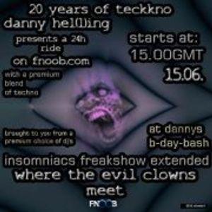 Jesto Kormann@Insomniac Freaks 20 Years Techno addicted
