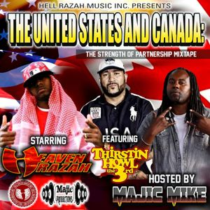HELLRAZAH MUSIC THE STRENGTH OF PARTNERSHIP UNITED STATES AND CANADA MIXTAPE HOSTED BY MAJIC MIKE