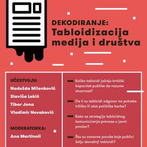 Dekodiranje: Tabloidizacija medija i društva