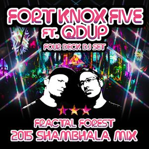 Fort Knox Five ft. Qdup - Four Deck DJ Set - 2015 Shambhala Mix