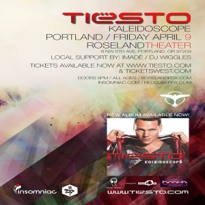 Opening Tiesto's Kaleidoscope Tour in Portland, OR - Podcast 08 [April 9, 2010 What Is House?]
