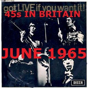 JUNE 1965: 45s RELEASED IN BRITAIN