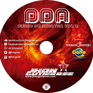 DDA DUROS DE ACOSTAR Vol. 2 Special Session Happy New Year Mixed by JHONGUTIERREZ