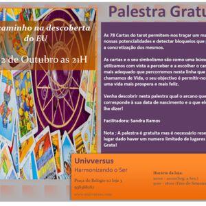 Palestra de Tarot - Um caminho na descoberta do Eu