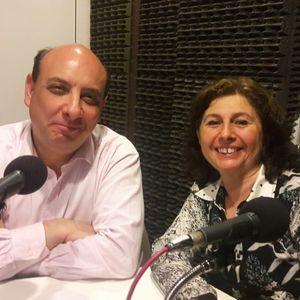 Dra. Judith Malamud y el Dr. Gustavo Schotz