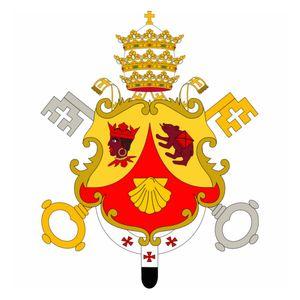 Papa Benedetto XVI - Tromba di Gabriele - Versione 2
