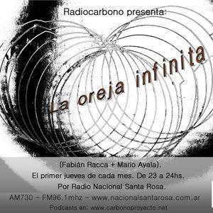 La oreja infinita - (prg 6-Junio 2015) por Radio Nacional Santa Rosa