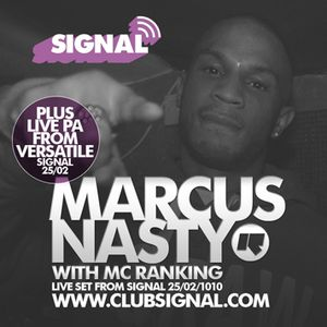 Marcus Nasty Live @ Signal, Cambridge (Feb 2010)