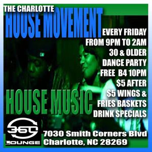The Art of Dance/ The Charlotte House Movement - DJ Dale Wallace   Baltimore/Charlotte