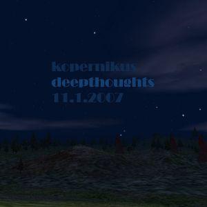 kopernikus - deepthoughts - 2007