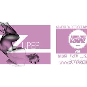 Dj Ichtus live - Ninkasi - Zuper 011 Amine Edge Warm-up - 25 10 2013