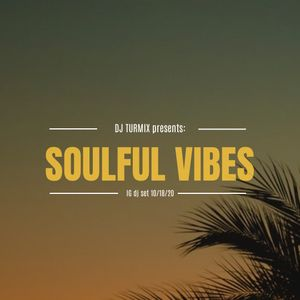 Soulful Afro Jazzy House (IG Live Oct 18 2020)