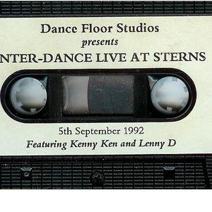 KENNY KEN & LENNY DEE INTER-DANCE - 5th September 1992