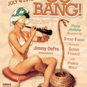 Jimmy DePre at Go BANG! July 2015