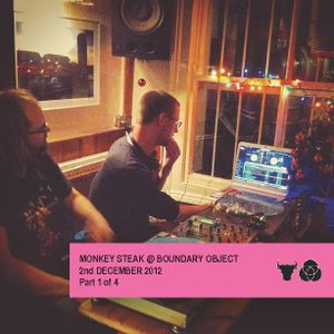 Monkey Steak Live at Boundary Object. 2nd Dec 2012. Part 1 of 4