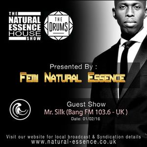 The Natural Essence House Show Episode 194 - Mr Silk | www.natural-essence.co.uk