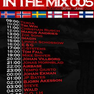 @djzoesong | Zoë Song | Scandinavia In The Mix 005 on AHFM [2015.06.30]