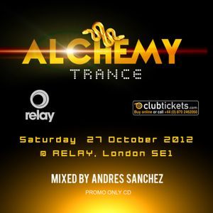ALCHEMY TRANCE October 2012 Promo Mixed By Andres Sanchez